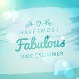 Roczników wakacje letni i urlopowy tło Zdjęcie Royalty Free