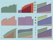 Roczników wskaźniki i mapy ilustracja wektor