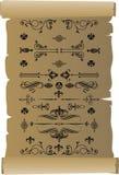 Wzór na papierze ilustracja wektor