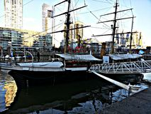 Rocznik łódź Zdjęcia Stock