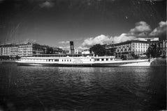 Rocznik łódź Zdjęcie Stock