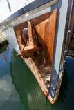 Rocznik łodzie dokują przy Wiktoria Klasycznym Łódkowatym festiwalem Fotografia Royalty Free