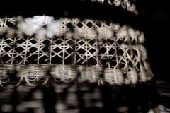 Rocznik łozinowa lampa fotografia stock