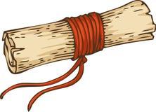 Rocznik ślimacznica z Czerwoną arkaną royalty ilustracja