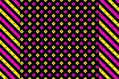 Rocznik abstrakcjonistyczna geometryczna deseniowa tapeta ilustracji