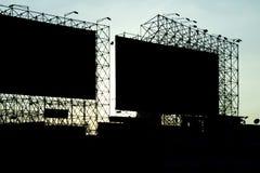 Rocznik Abstrakcjonistyczna sztuka billboard Obraz Stock
