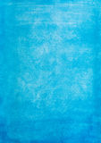 Rocznik akwareli papieru błękitna tekstura Obraz Royalty Free