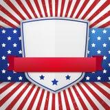 Rocznik amerykańska osłona Obraz Stock
