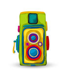 Rocznik analogowa kamera Zdjęcie Royalty Free