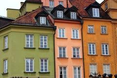 Rocznik architektura podczas gdy podróż w Polska, Europa obraz royalty free