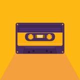 Rocznik audio kaseta Zdjęcie Stock