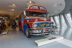Rocznik autobusowy Mercedes-Benz LO 1112 Omnibus, 1969 Fotografia Stock
