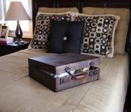 rocznik bagażu Fotografia Royalty Free