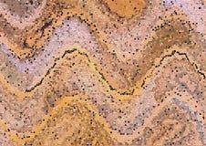 Rocznik barwiąca deska z złotymi uderzeniami Zbliżenie sztuka Drewniany tekstury prześcieradło zdjęcia royalty free