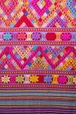 Rocznik bawełnianej tkaniny tekstura Obrazy Royalty Free