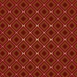 rocznik bezszwowy brown wzoru Zdjęcie Royalty Free