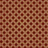 rocznik bezszwowy brown wzoru Zdjęcia Royalty Free