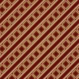 rocznik bezszwowy brown wzoru Fotografia Royalty Free