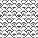 rocznik bezszwowy wzoru Wektorowy tekstury tło Obrazy Stock