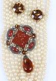 Rocznik Biżuteria Obrazy Royalty Free