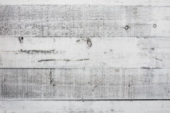 Rocznik biała drewniana tekstura Zdjęcie Royalty Free
