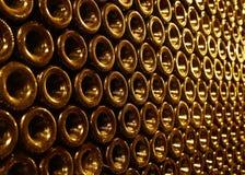 Rocznik butelki w wino lochu Zdjęcie Royalty Free