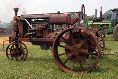 - rocznik ciągnika Zdjęcie Royalty Free