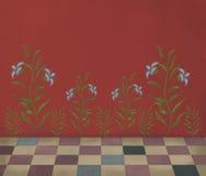 Rocznik ściana Zdjęcie Royalty Free