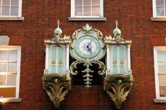 rocznik ściany zegarek Zdjęcie Royalty Free