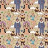 Rocznik cyrkowe ilustracje inkasowe ilustracji