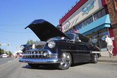 Rocznik Czarny Cadillac Obrazy Stock