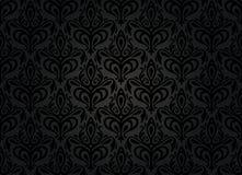 Rocznik czarny tapeta Zdjęcie Royalty Free
