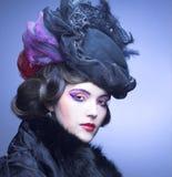 Rocznik dama. Obrazy Royalty Free
