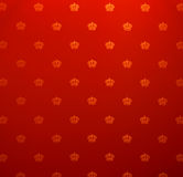 rocznik deseniowa bezszwowa tapeta Obraz Stock