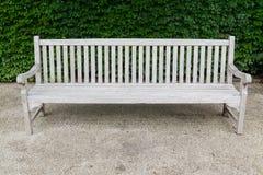 Rocznik drewniana ławka Zdjęcia Stock