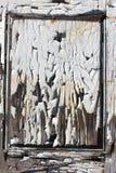Rocznik drewniana ściana dwa Fotografia Royalty Free