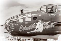 Rocznik druga wojna światowa Fotografia Stock