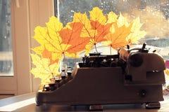 Rocznik drukowa maszyna Zdjęcia Stock