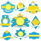 Rocznik etykietka Royalty Ilustracja