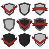 Rocznik odznaka i etykietka przetwarzający papier. Zdjęcie Royalty Free