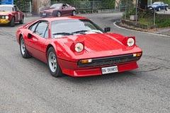 Rocznik Ferrari 208 GTB Zdjęcia Stock