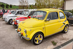 Rocznik Fiat 500 Abarth Obraz Stock