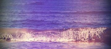 Rocznik filtrujący abstrakcjonistyczny natura sztandar lub tło Zdjęcia Stock