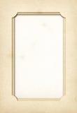 Rocznik fotografii papierowa rama Zdjęcie Stock