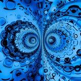 Rocznik geometrii abstrakt Obrazy Royalty Free