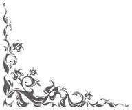 Rocznik granica z klasycznym ornamentem Zdjęcia Royalty Free
