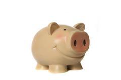 rocznik homely bank świnki Fotografia Stock