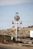 Rocznik instalaci wodnokanalizacyjnej znak Obrazy Stock
