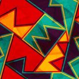 Rocznik jaskrawa bezszwowa tekstura z grunge skutkiem Obraz Royalty Free