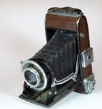 Rocznik kamera z dużym obiektywem Zdjęcie Royalty Free